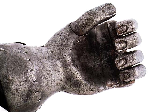 protese de mao antiga